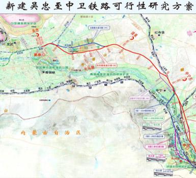 吴忠至中卫城际铁路PPP项目